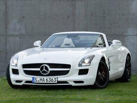 Ver foto 13 de Mercedes SLS AMG Roadster 2011