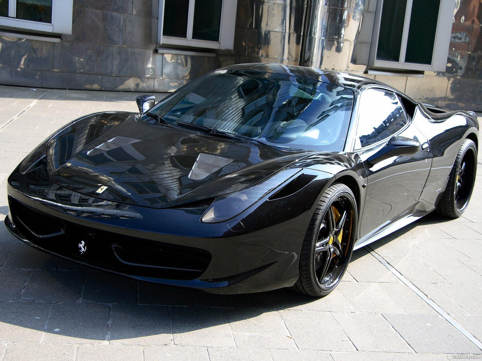 Foto 0 de Ferrari 458 Italia Black Carbon Edition by Anderson 2011