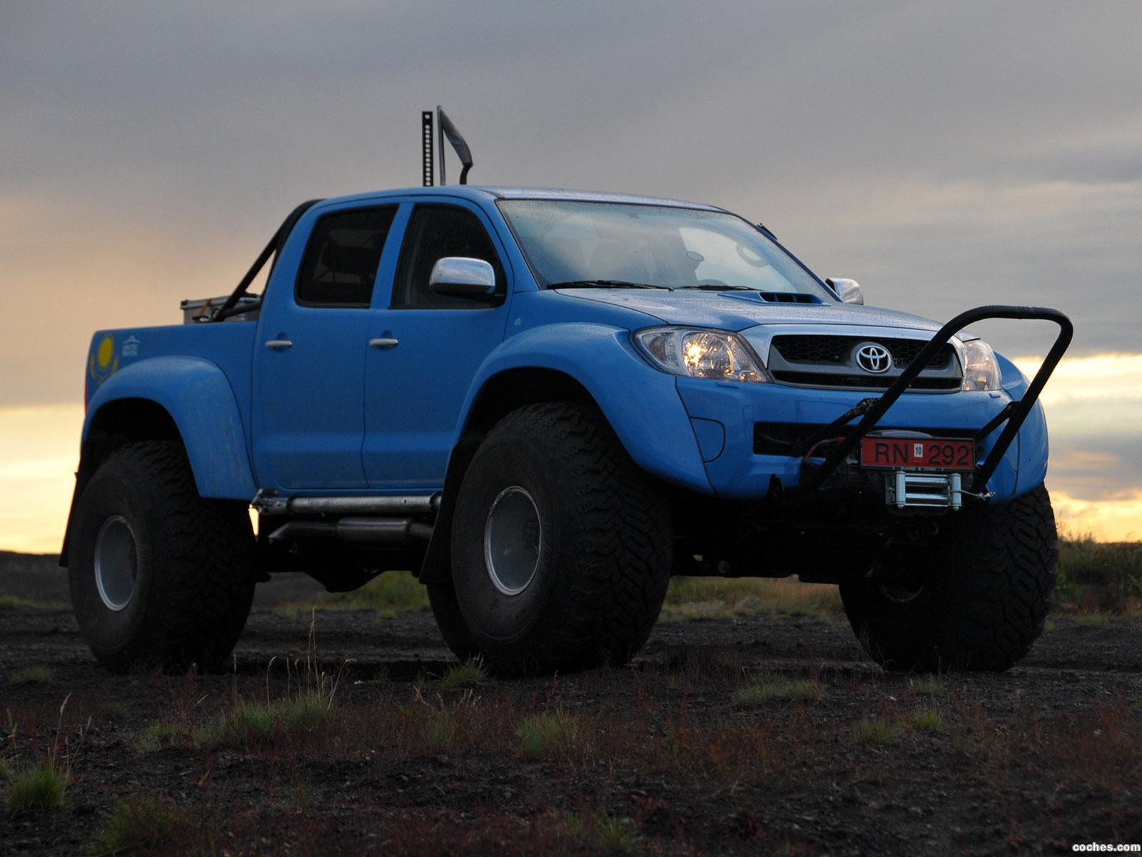 Foto 19 de Arctic Trucks Toyota Hilux AT44 South Pole Expedition 2010