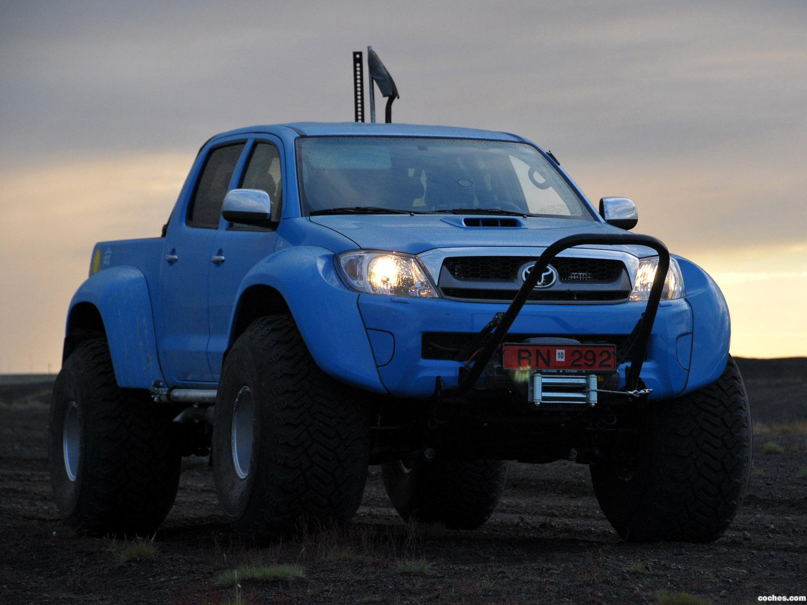 Foto 18 de Arctic Trucks Toyota Hilux AT44 South Pole Expedition 2010