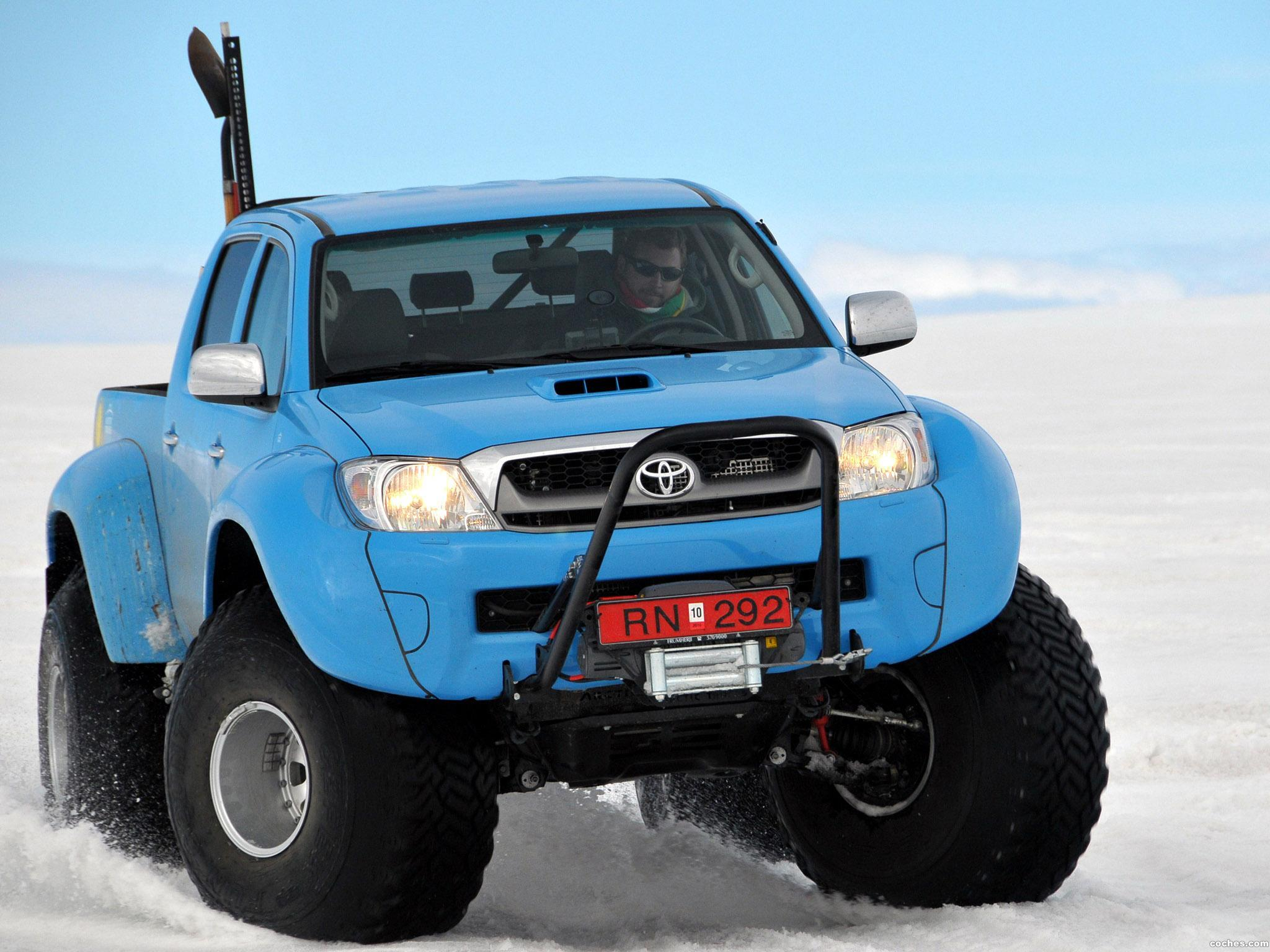 Foto 14 de Arctic Trucks Toyota Hilux AT44 South Pole Expedition 2010