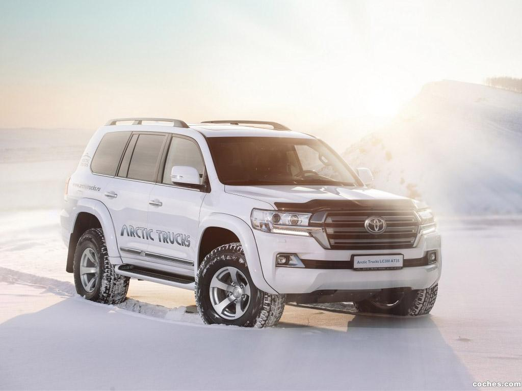 Foto 0 de Arctic Trucks Toyota Land Cruiser AT35 J200 2015