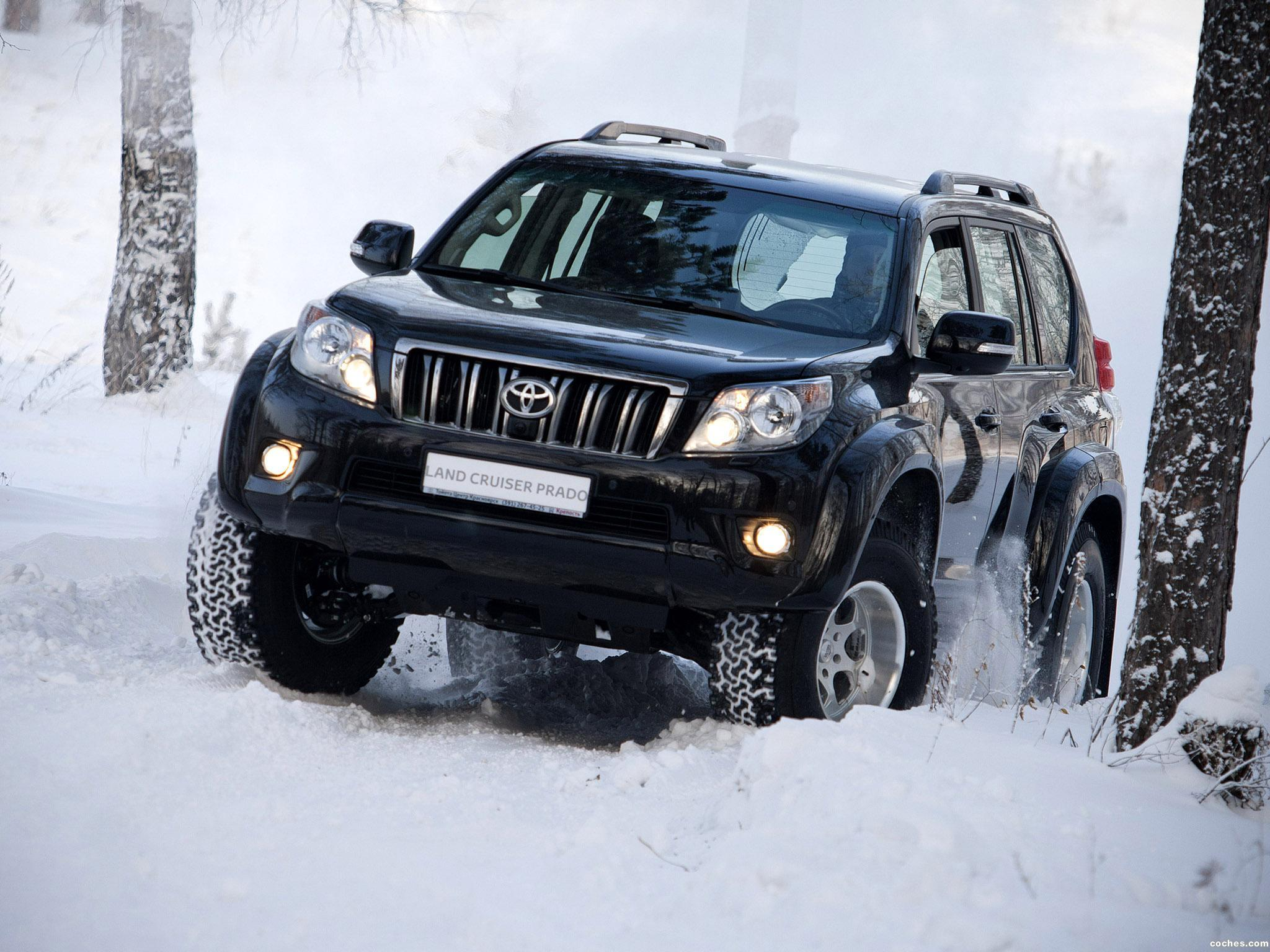 Foto 0 de Arctic Trucks Toyota Land Cruiser Prado AT35 2009