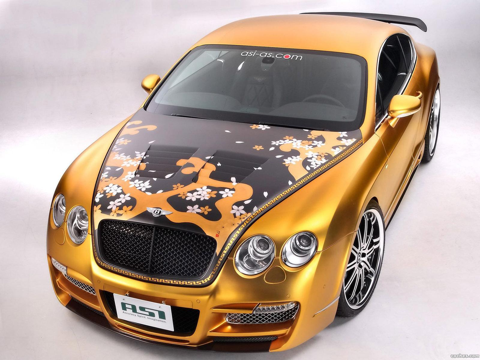 Foto 6 de Bentley Continental GTS Gold 2008