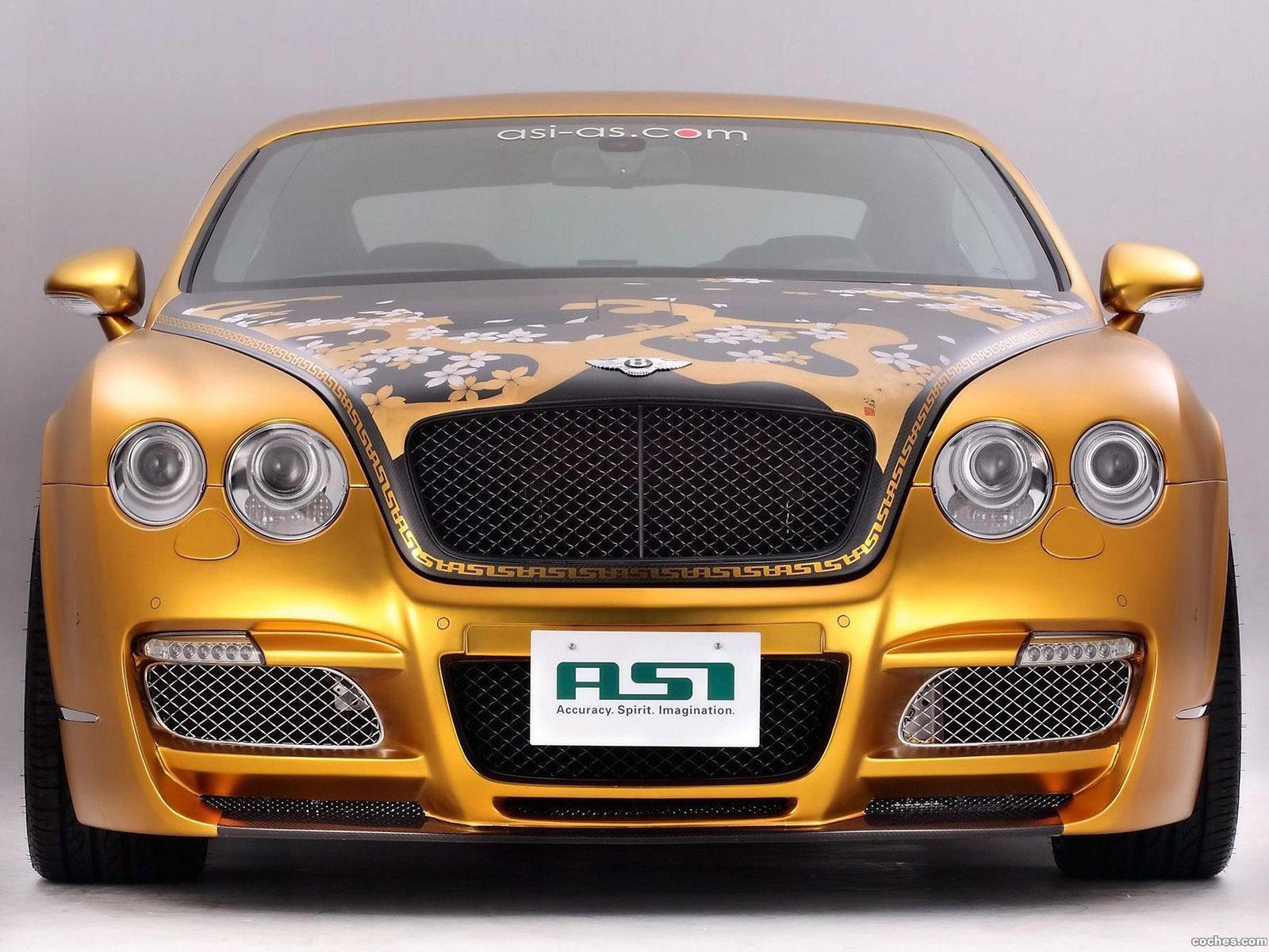 Foto 5 de Bentley Continental GTS Gold 2008