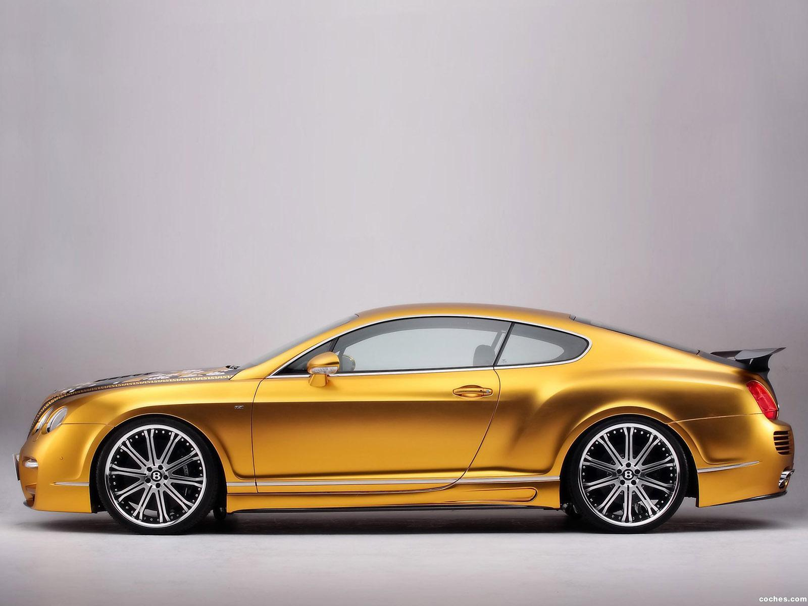 Foto 1 de Bentley Continental GTS Gold 2008