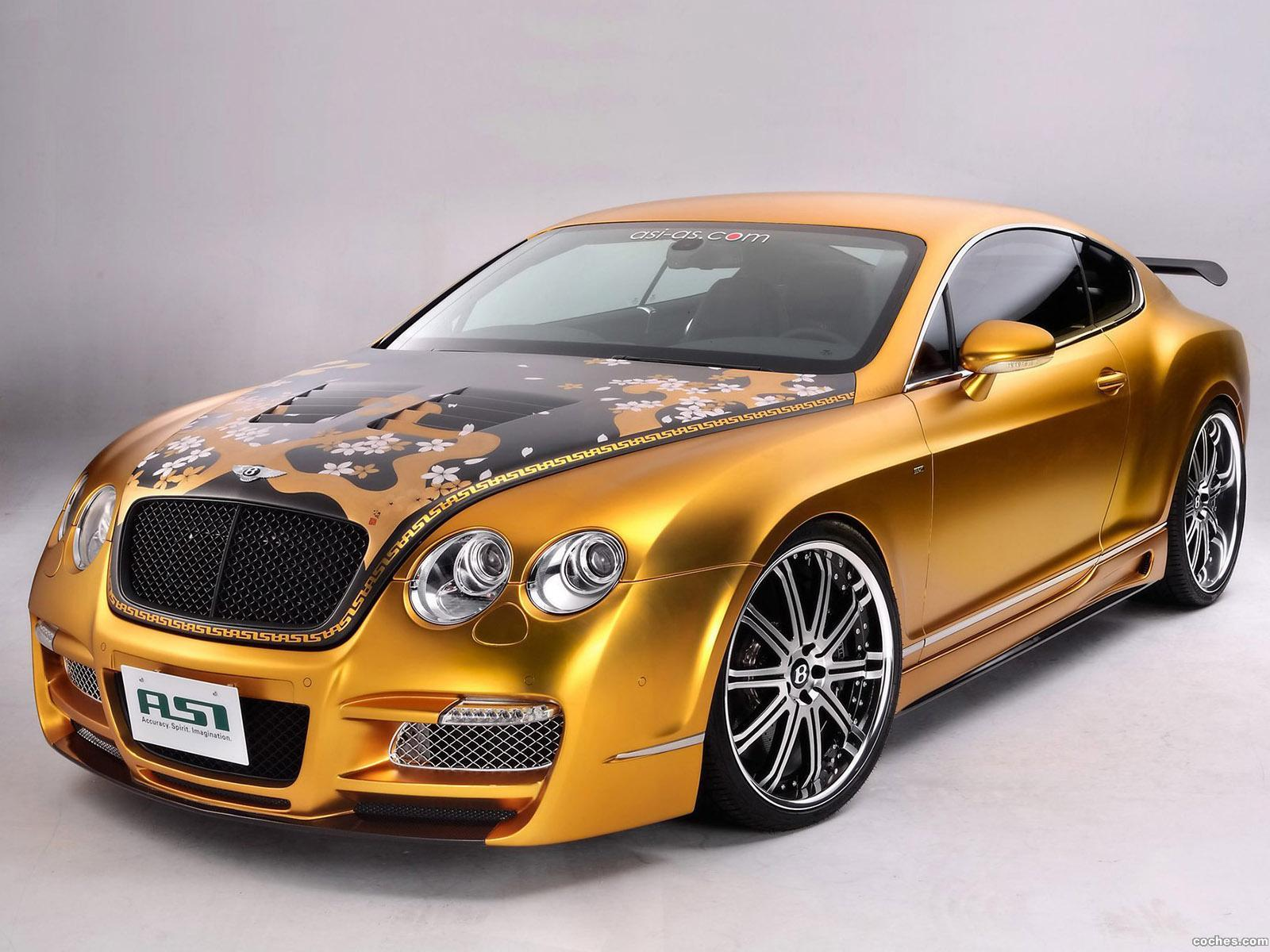 Foto 0 de Bentley Continental GTS Gold 2008