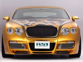 Ver foto 6 de Bentley Continental GTS Gold 2008