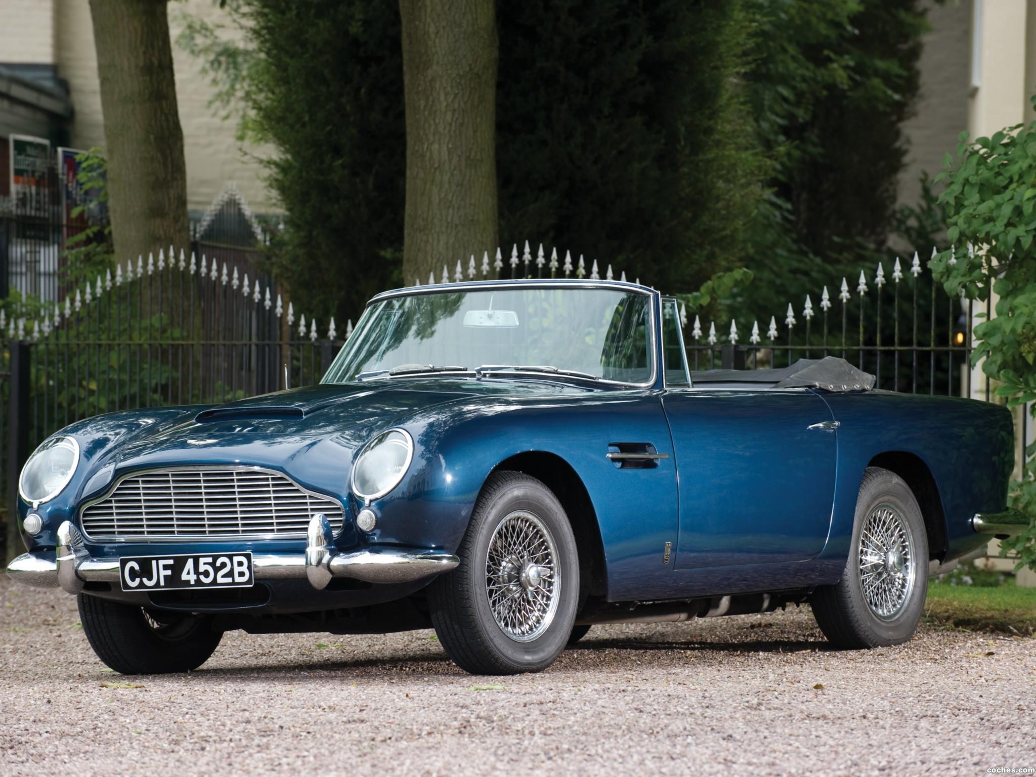 Foto 0 de Aston Martin DB5 Volante 1963