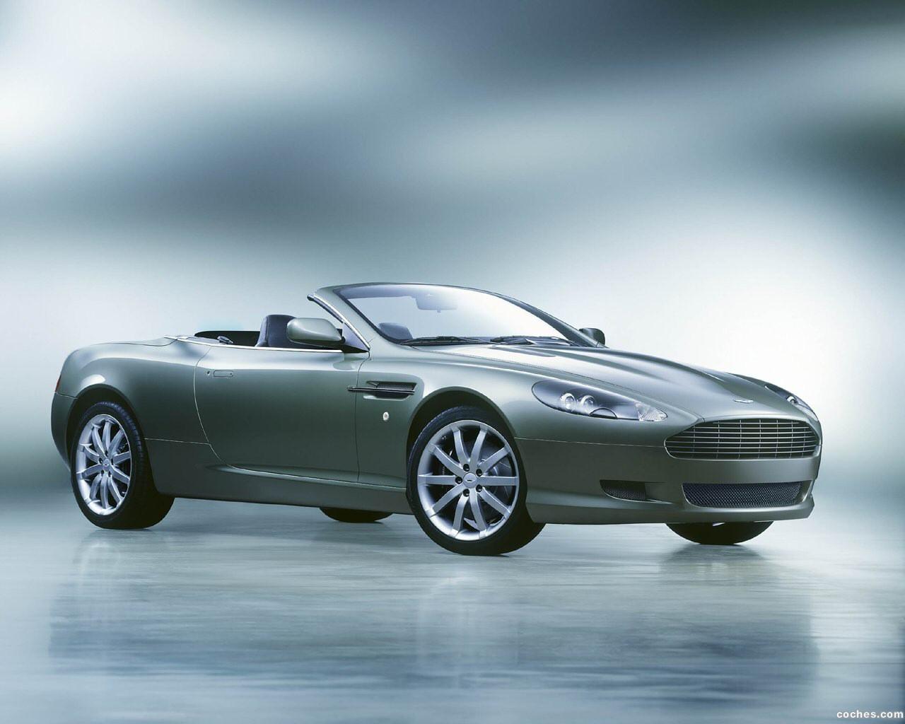 Foto 0 de Aston Martin DB9 Volante 2004