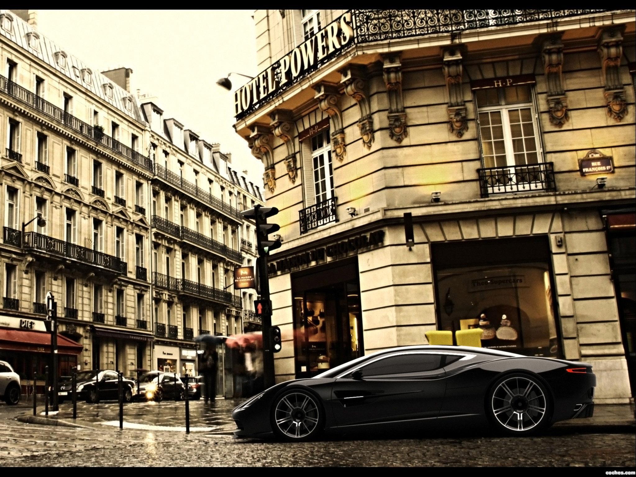 Foto 9 de Aston Martin DBC Concept Design by Samir Sadikhov 2013