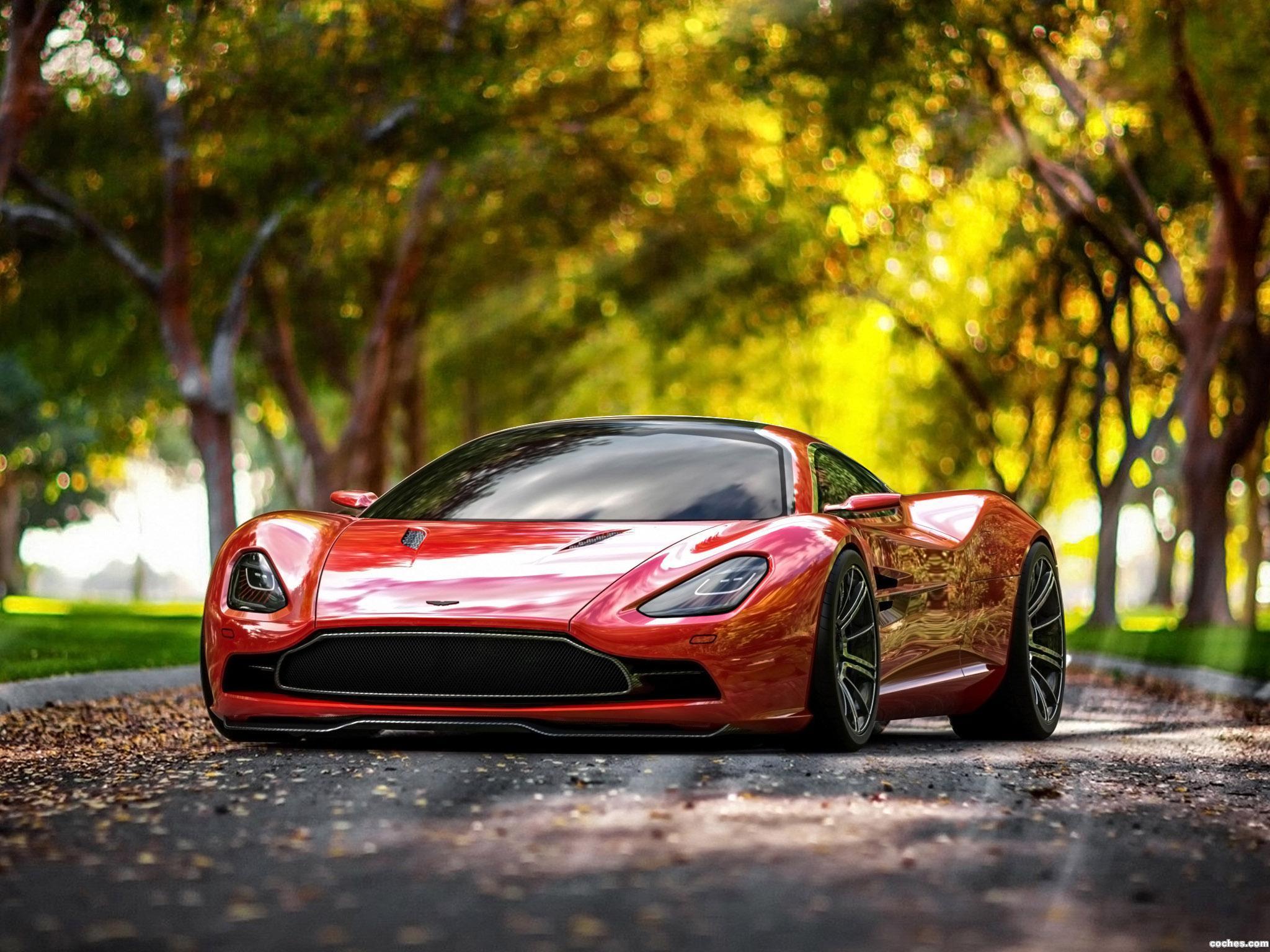 Foto 0 de Aston Martin DBC Concept Design by Samir Sadikhov 2013