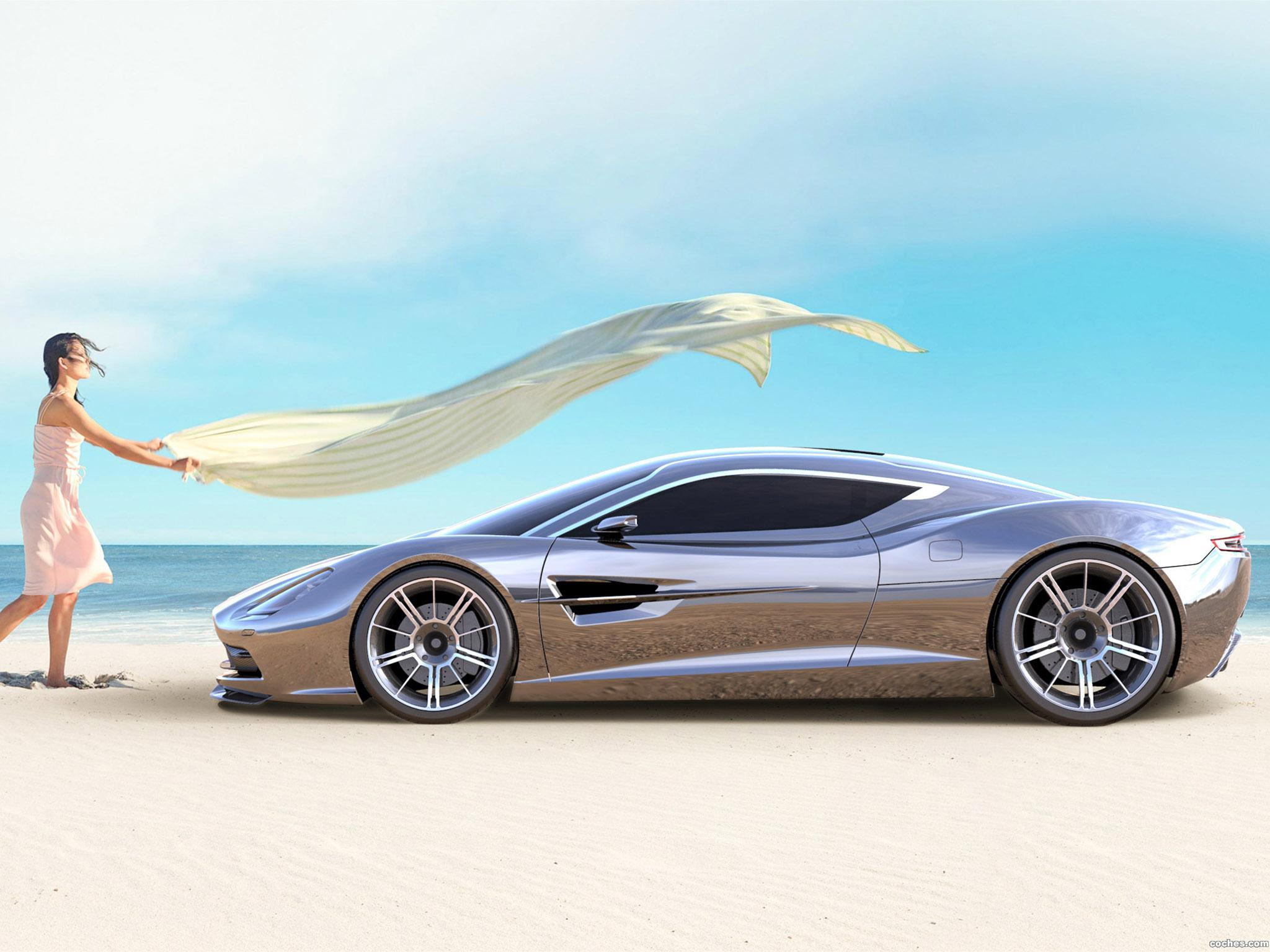 Foto 11 de Aston Martin DBC Concept Design by Samir Sadikhov 2013