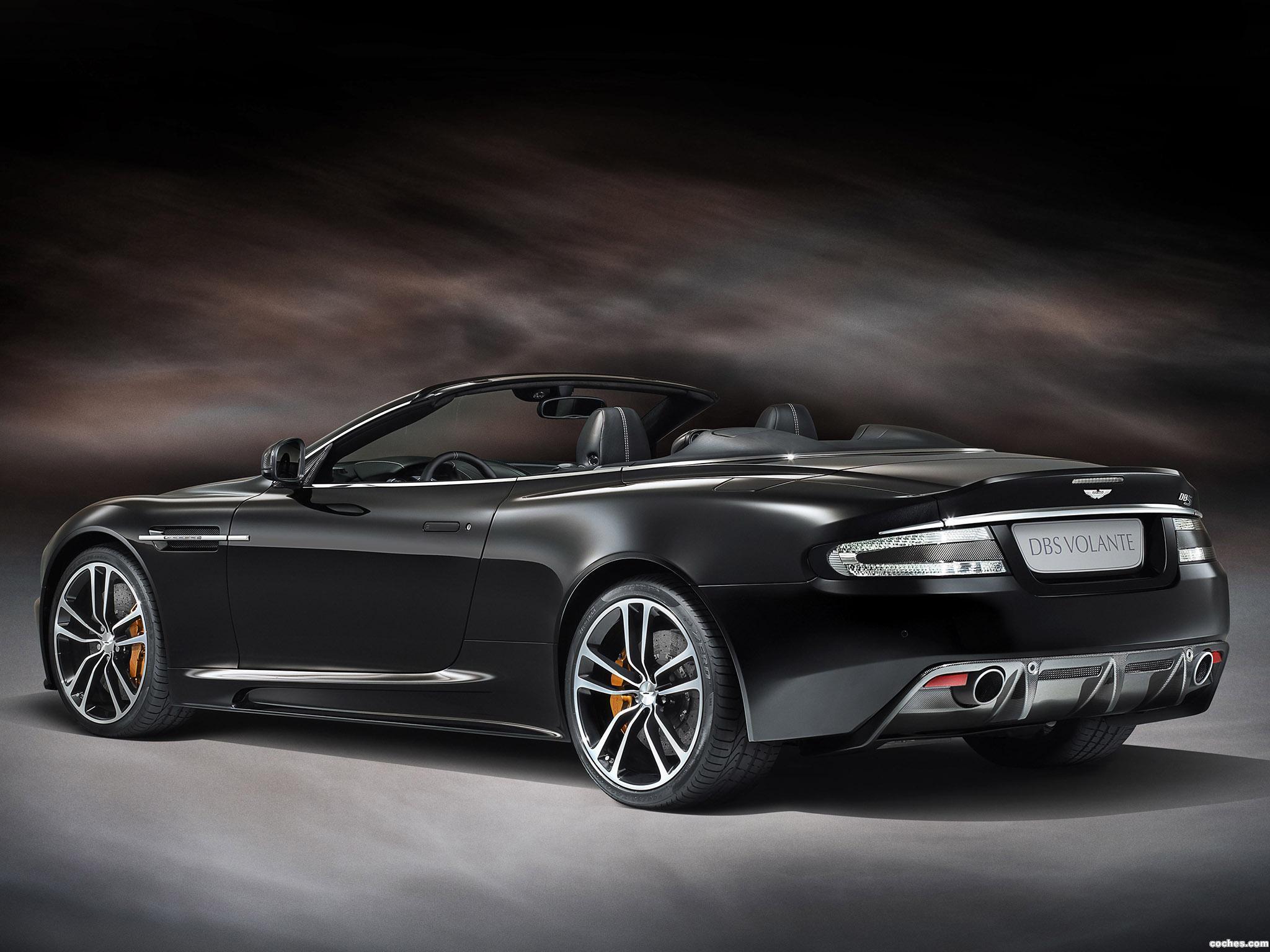 Foto 0 de Aston Martin DBS Volante Carbon Edition 2012