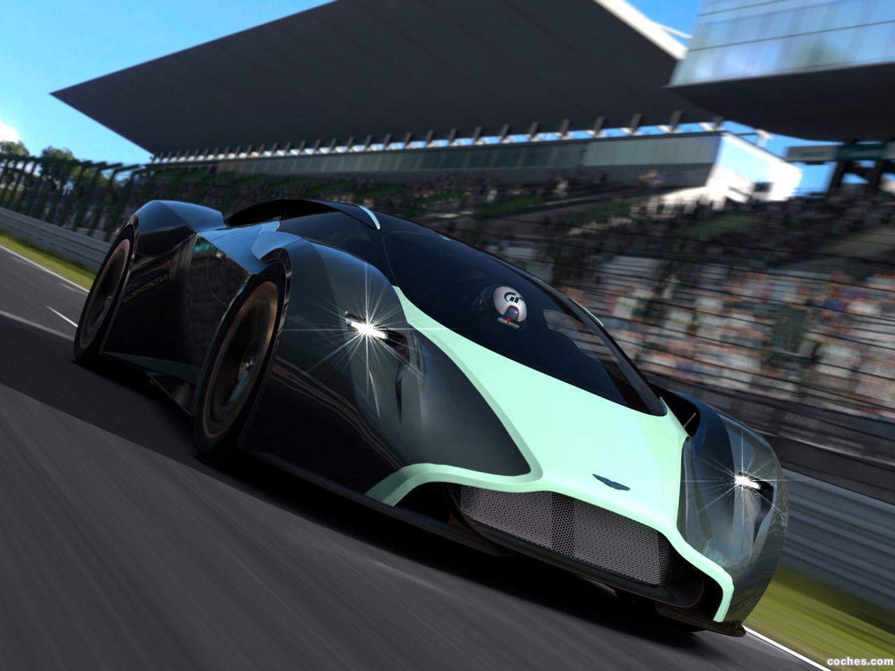 Foto 3 de Aston Martin DP-100 Vision Gran Turismo Concept 2014