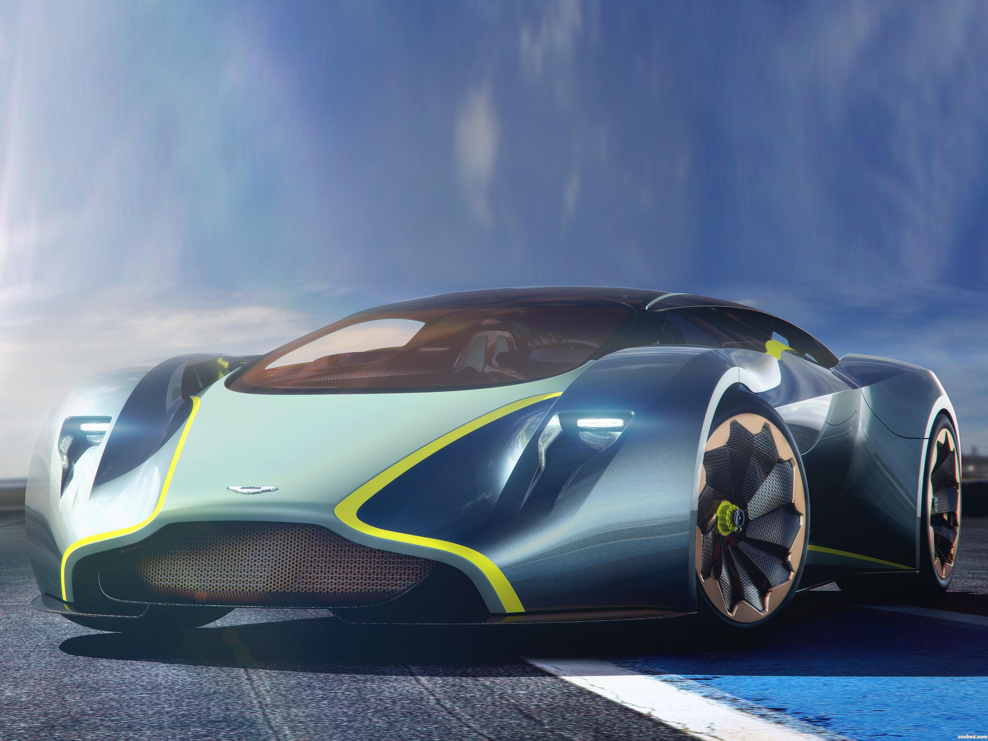 Foto 0 de Aston Martin DP-100 Vision Gran Turismo Concept 2014