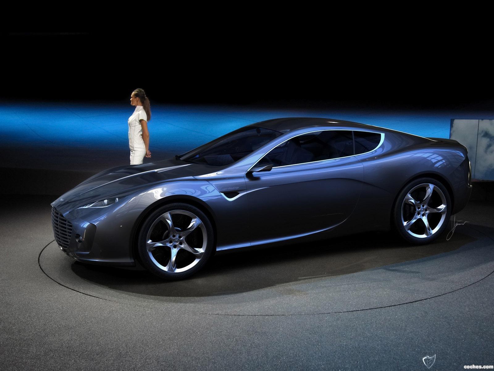 Foto 23 de Aston Martin Gauntlet Concept Design by Ugur Sahin 2010