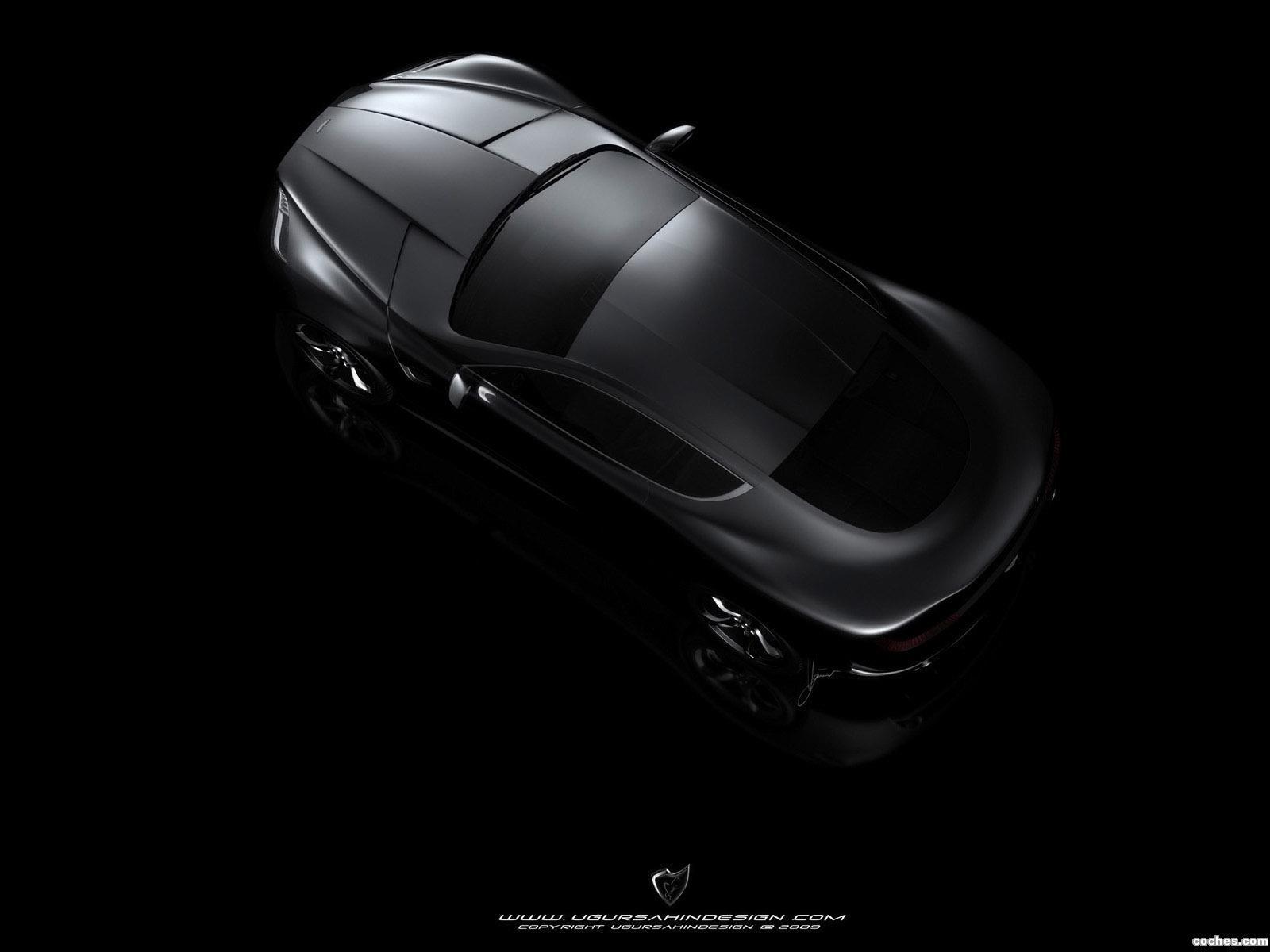 Foto 4 de Aston Martin Gauntlet Concept Design by Ugur Sahin 2010