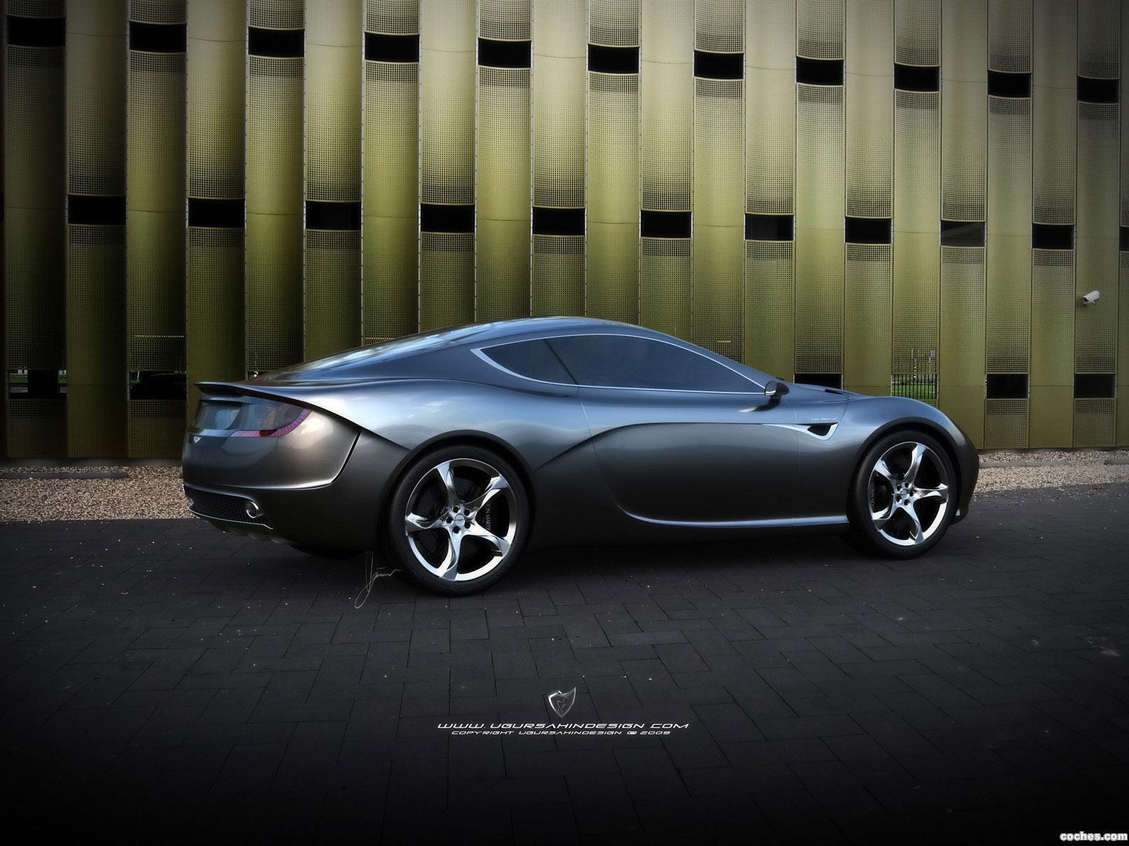 Foto 17 de Aston Martin Gauntlet Concept Design by Ugur Sahin 2010