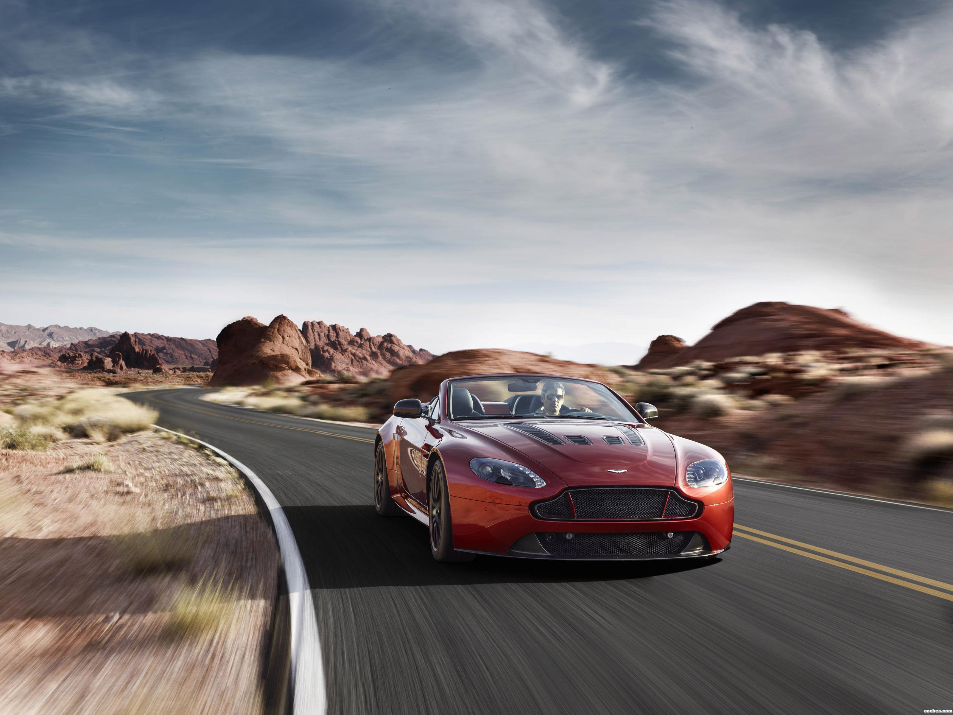 Foto 0 de Aston Martin V12 Vantage S Roadster 2014