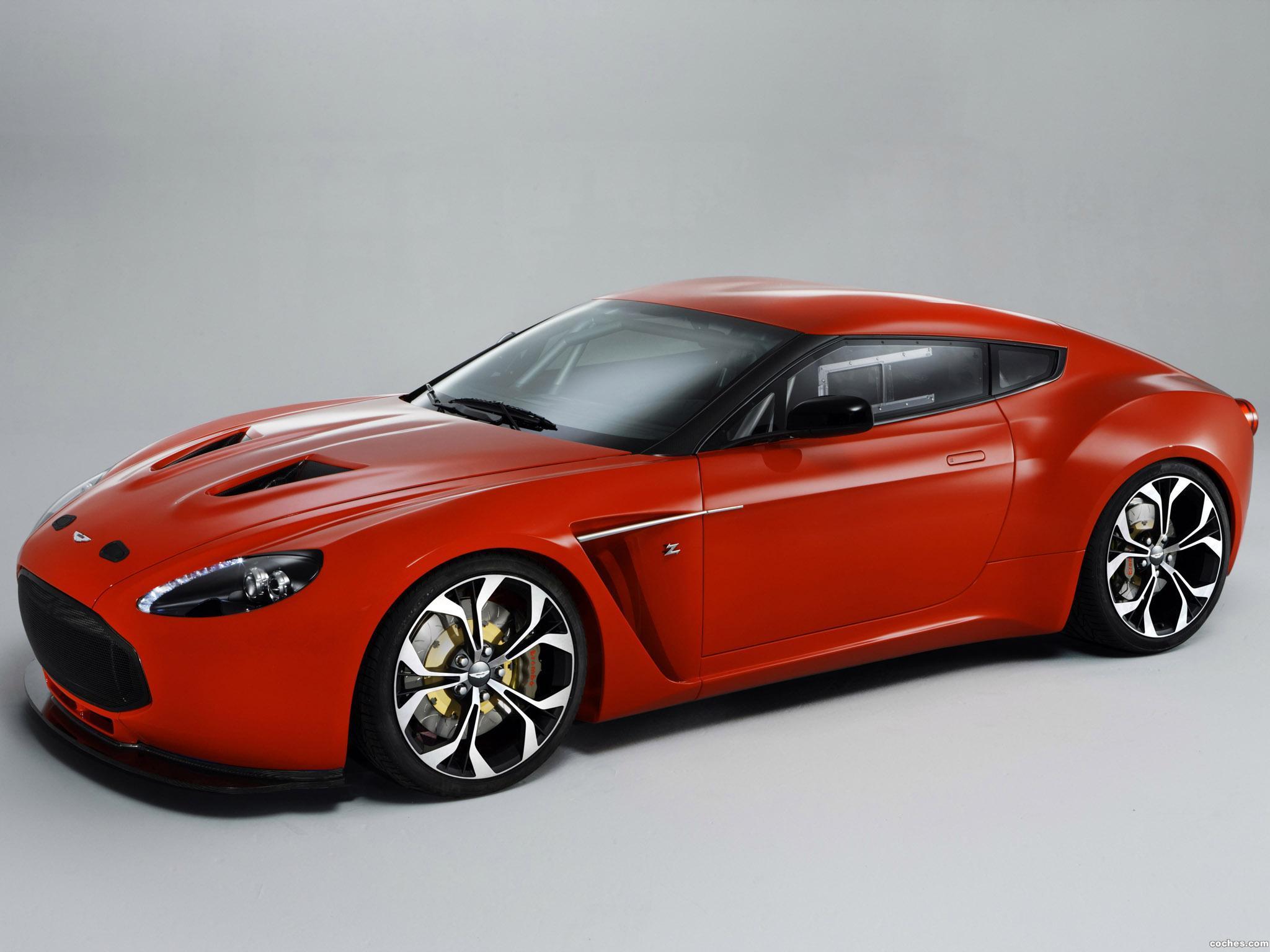 Foto 0 de Aston Martin V12 Vantage Zagato V12 2011