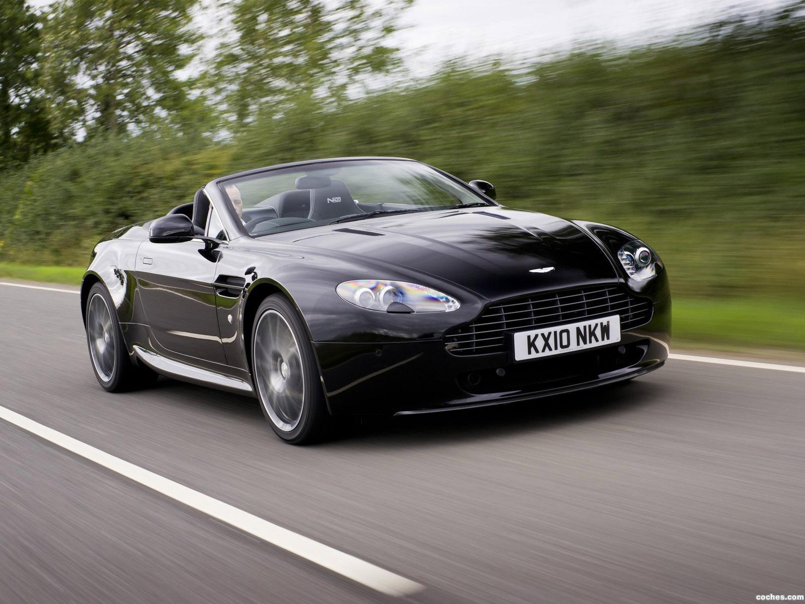 Foto 0 de Aston Martin Vantage V8 N420 Roadster UK 2010