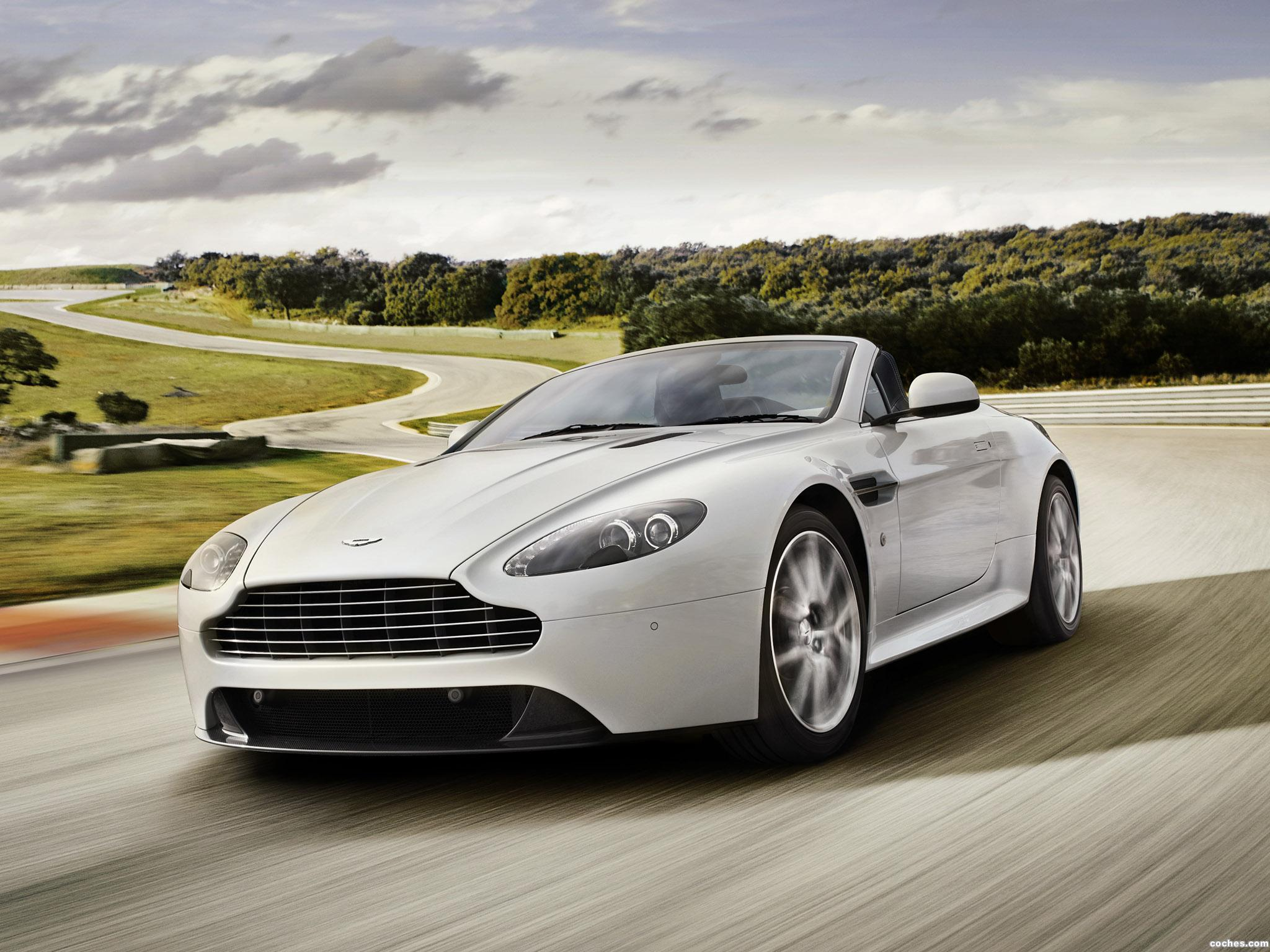 Foto 0 de Aston Martin V8 Vantage S Roadster 2011