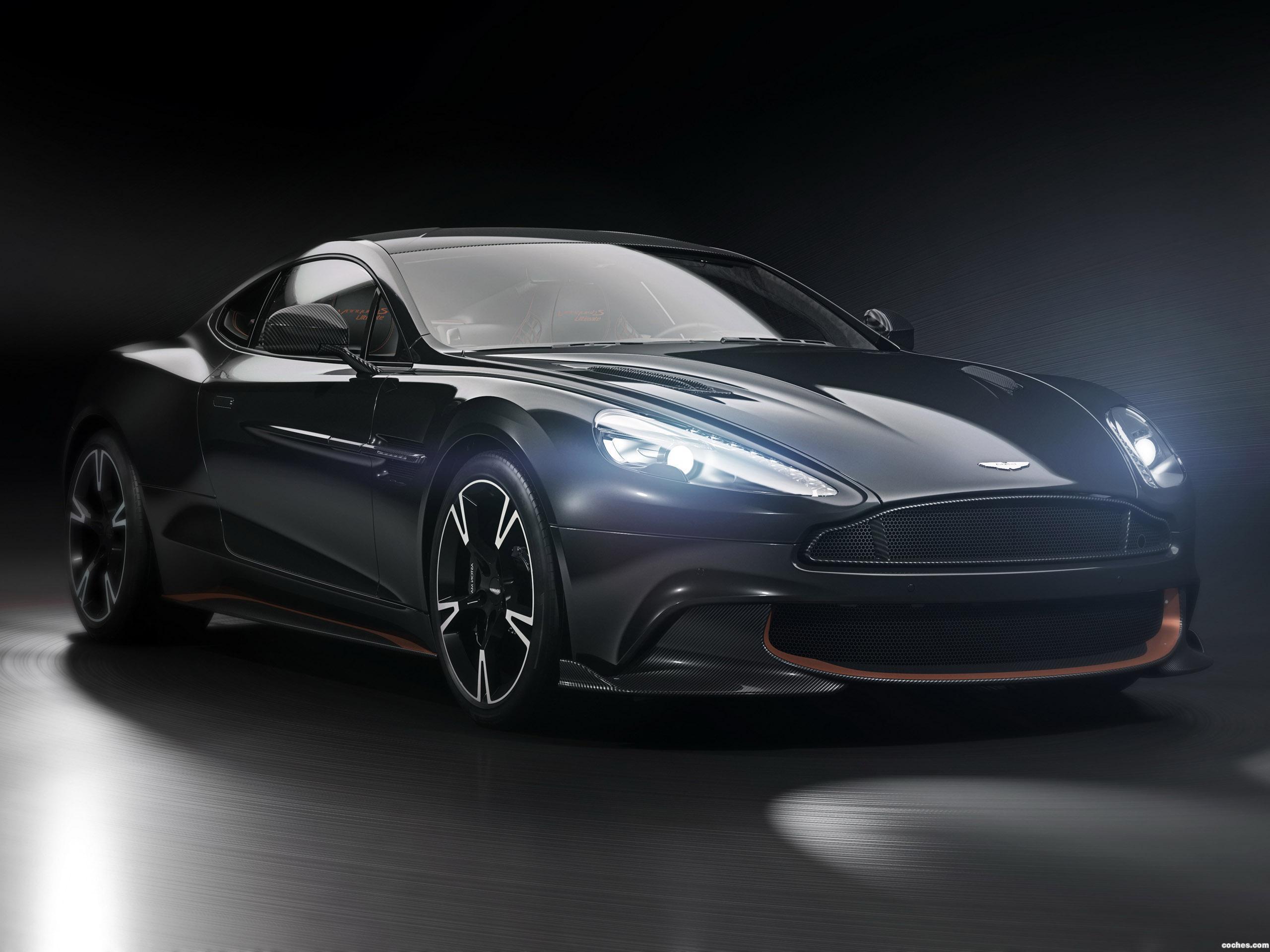 Foto 0 de Aston Martin Vanquish S Ultimate 2018