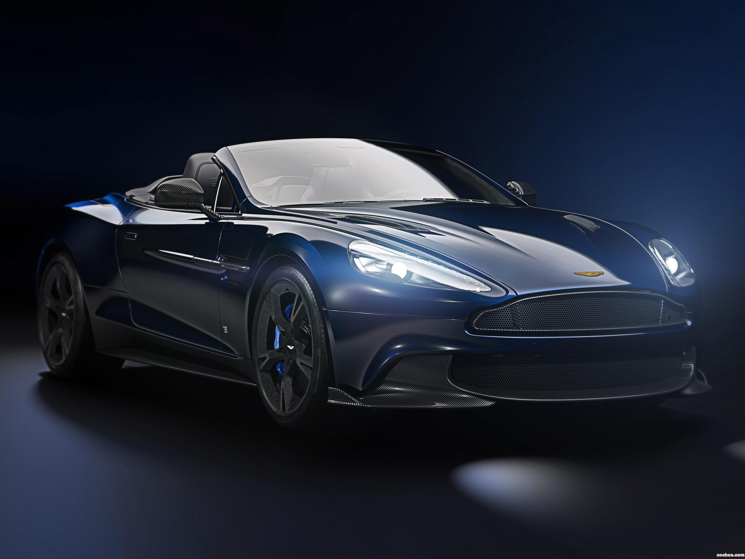 Foto 0 de Aston Martin Vanquish S Volante Tom Brady Signature Edition 2018