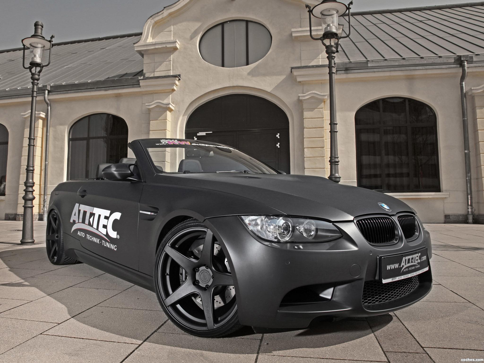Foto 0 de BMW ATT TEC M3 Cabrio 2012
