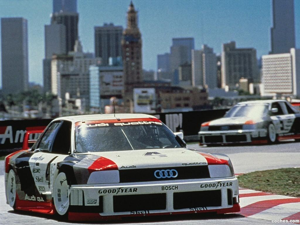 Foto 1 de Audi 90 Quattro IMSA GTO 1989