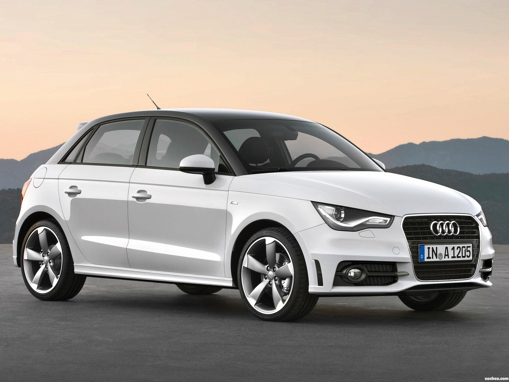 fotos de audi a1 sportback s line 2012. Black Bedroom Furniture Sets. Home Design Ideas