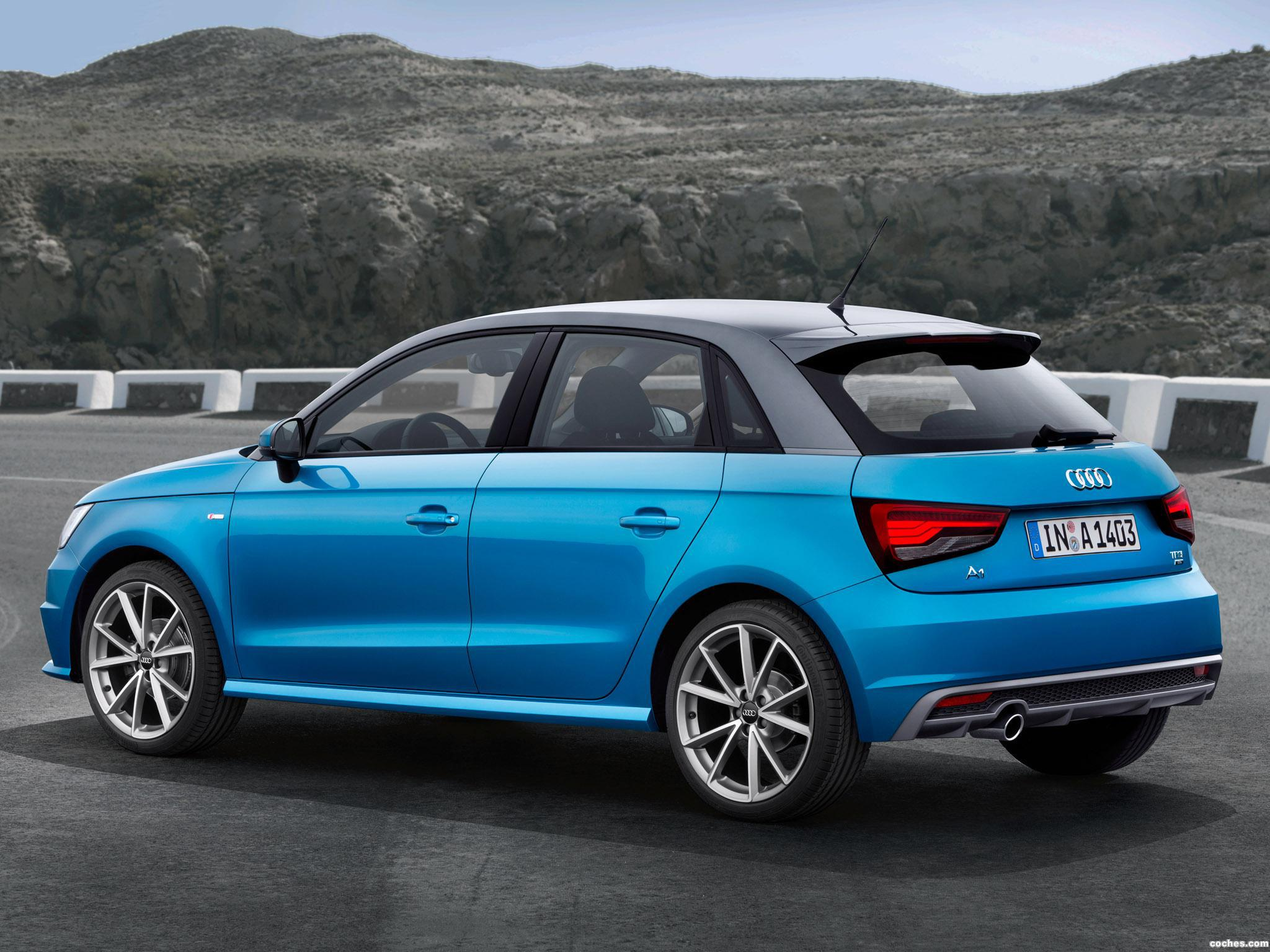 fotos de audi a1 sportback s line tdi 2015 foto 10. Black Bedroom Furniture Sets. Home Design Ideas