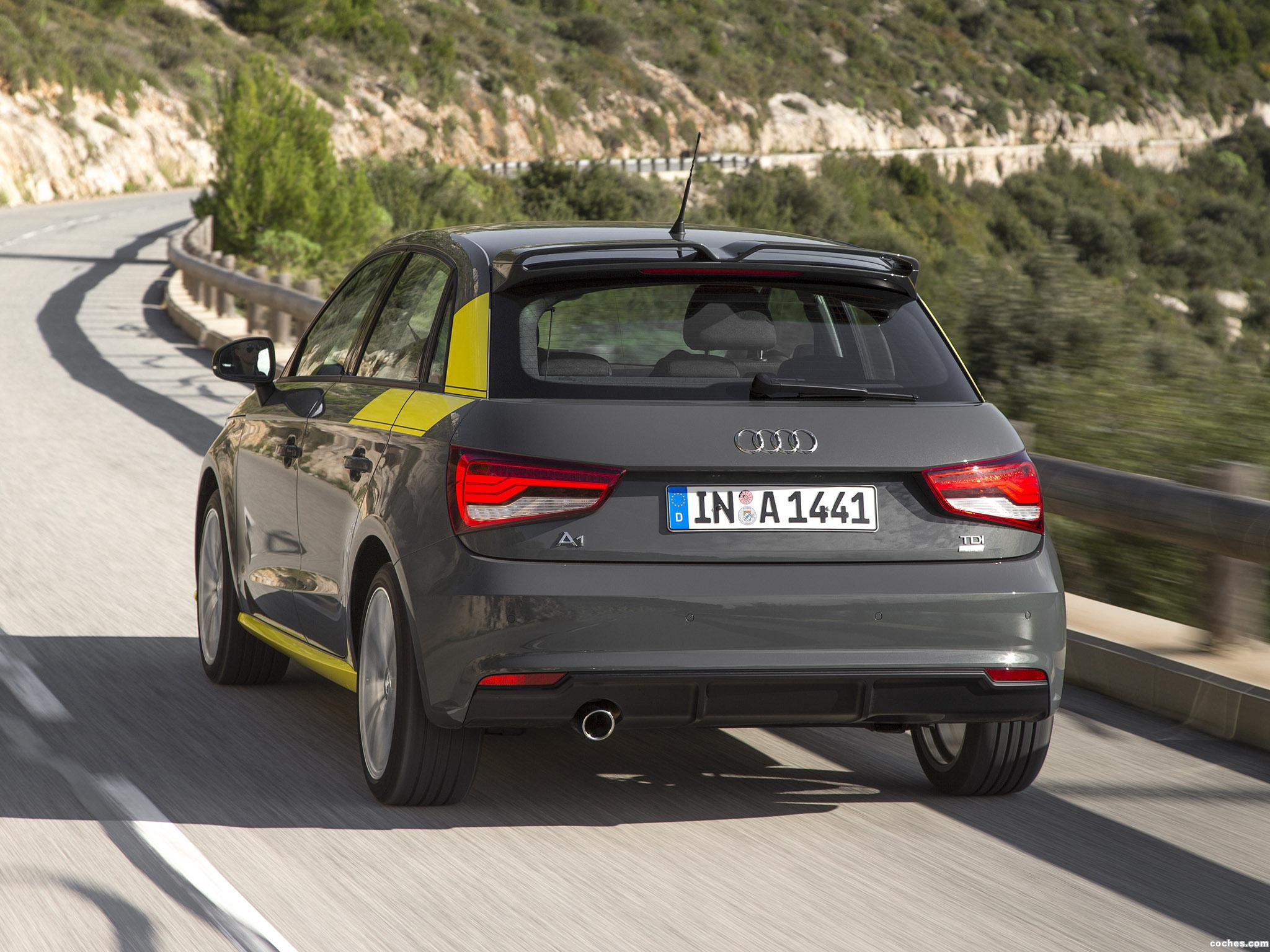 Foto 2 de Audi A1 Sportback Style TDI Ultra 2014