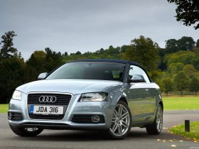 Fotos de Audi A3 Cabriolet UK 8PA 2008