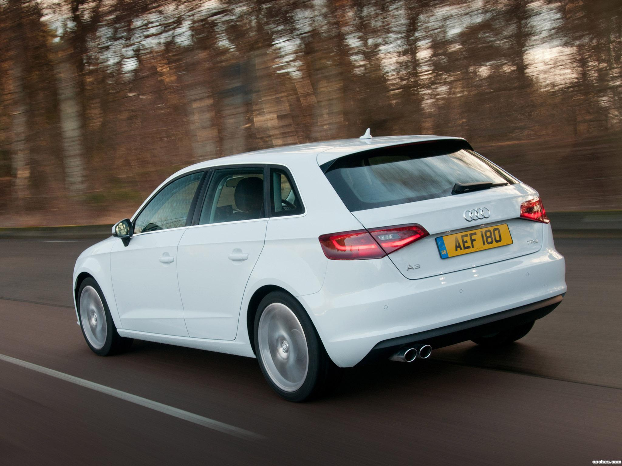 Foto 1 de Audi A3 Sportback 1.8T UK 2013