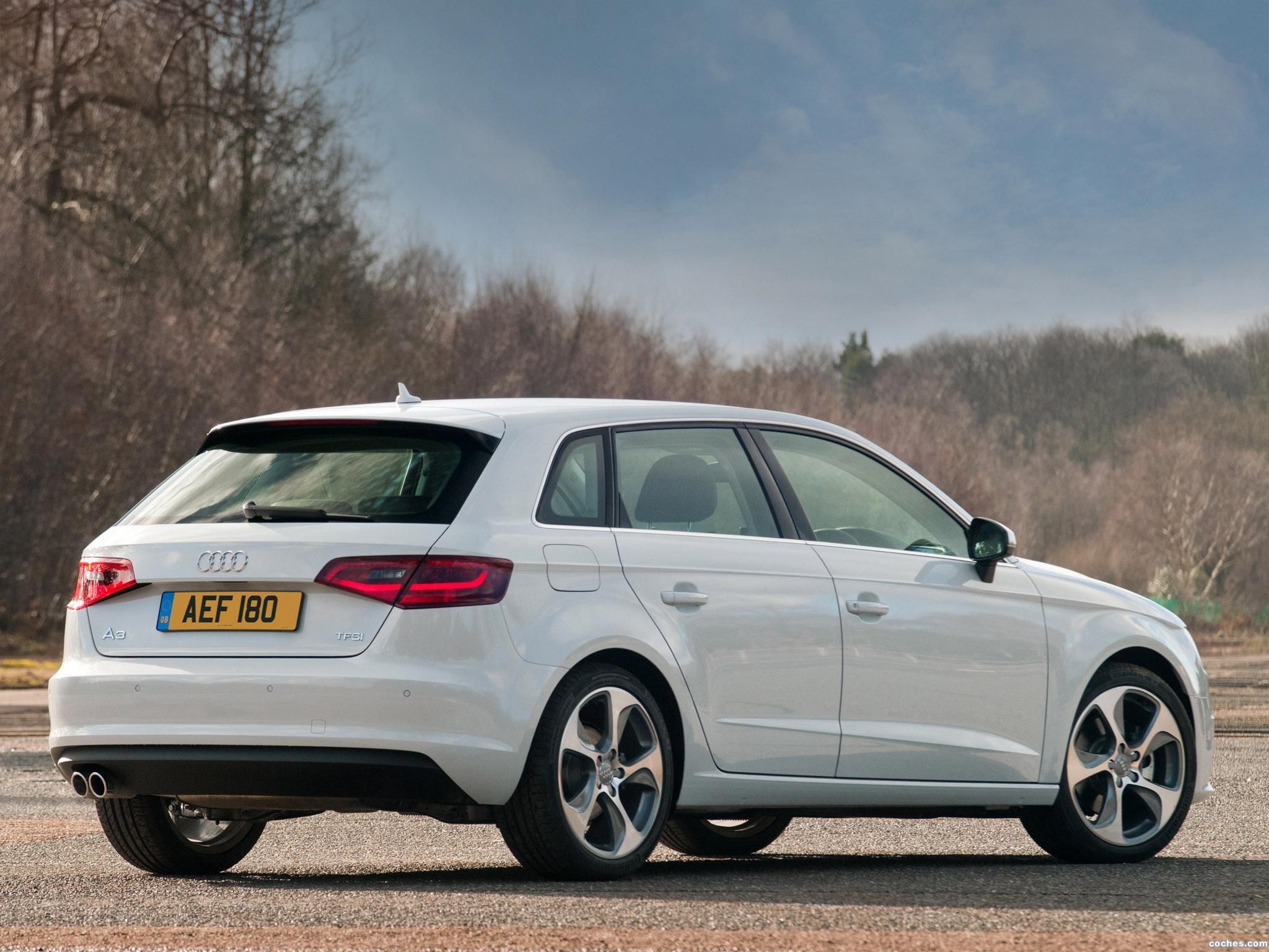 Foto 5 de Audi A3 Sportback 1.8T UK 2013
