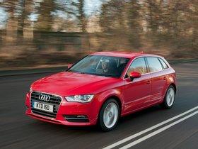 Fotos de Audi A3 Sportback 2.0 TDI UK 2013