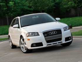 Fotos de Audi A3 Sportback S-Line USA 8PA 2008