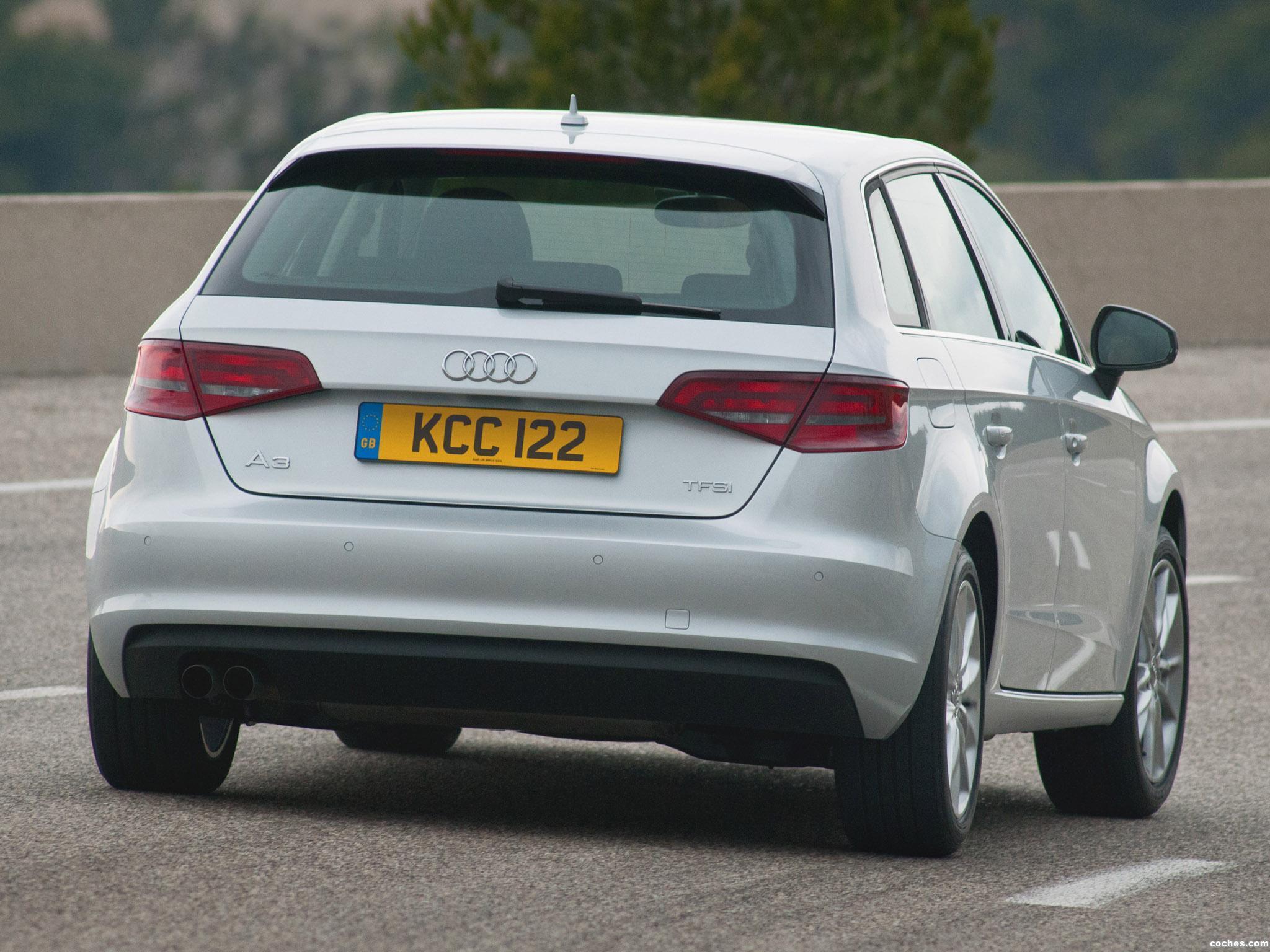 Foto 1 de Audi A3 Sportback SE UK 2013
