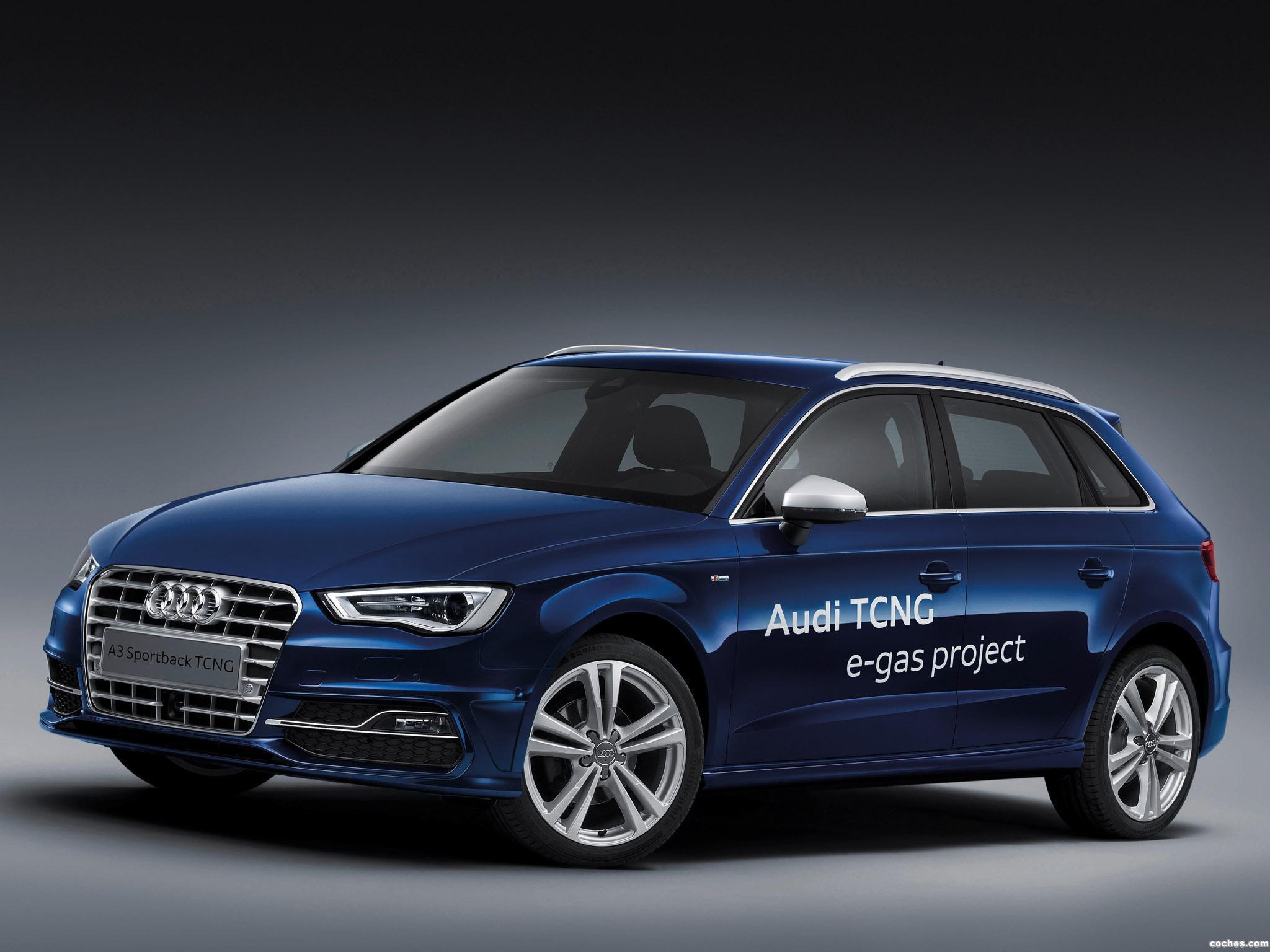 Foto 0 de Audi A3 Sportback TCNG 2013