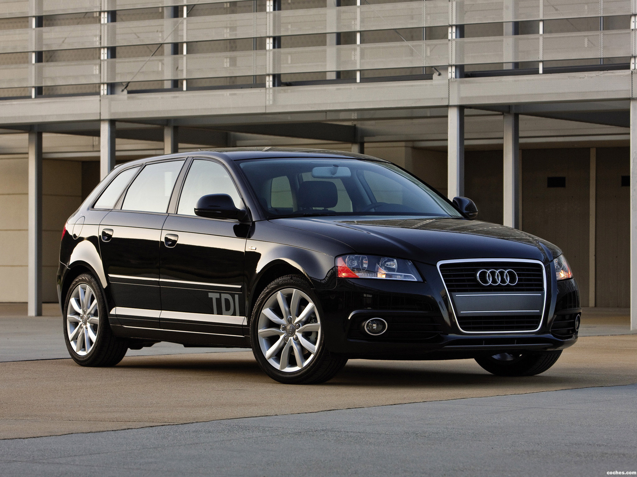 fotos de audi a3 sportback tdi clean diesel 8pa 2009. Black Bedroom Furniture Sets. Home Design Ideas