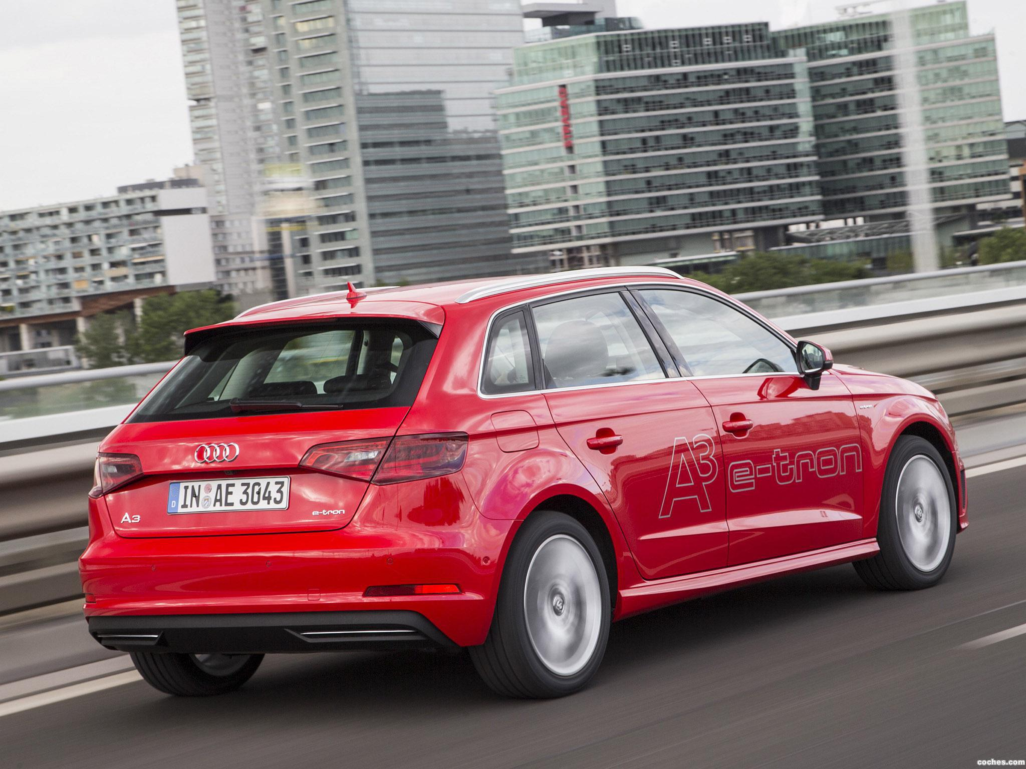 Foto 4 de Audi A3 Sportback e-Tron 2014