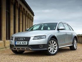 Fotos de Audi A4 Allroad 2.0 TDI Quattro UK B88K 2009