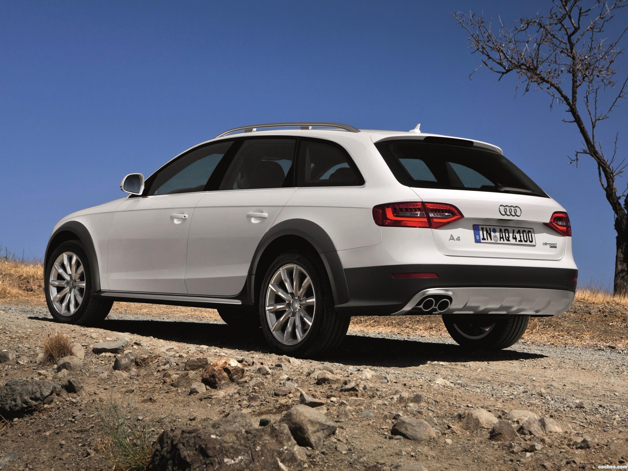 Foto 3 de Audi A4 Allroad Quattro 2012