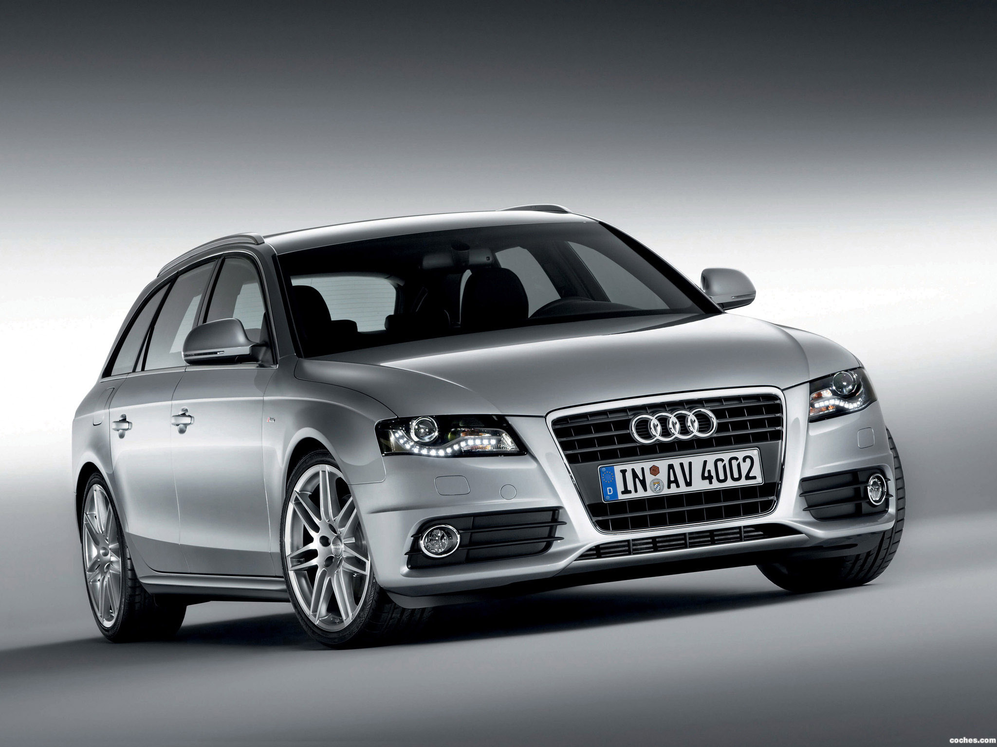 fotos de audi a4 avant s line 2008. Black Bedroom Furniture Sets. Home Design Ideas