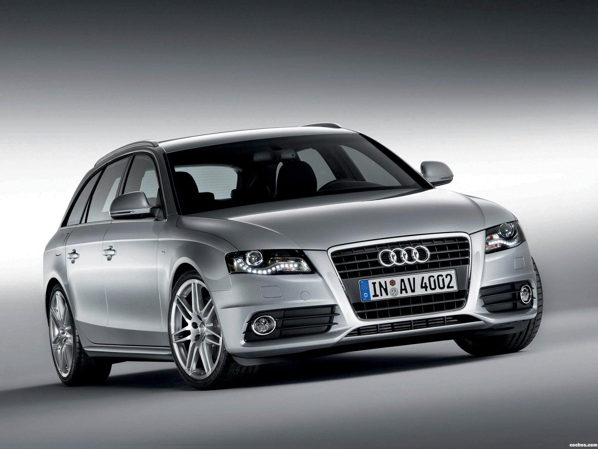 Foto 0 de Audi A4 Avant S-line 2008
