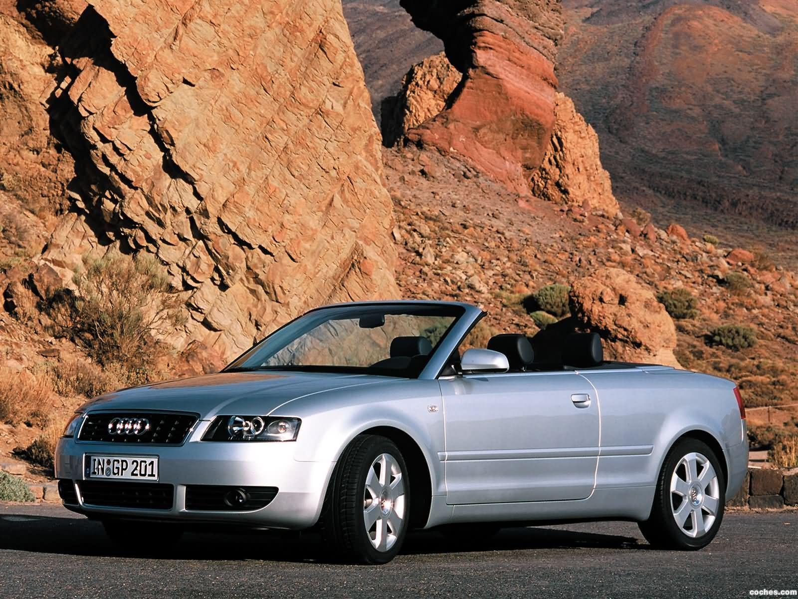 Foto 0 de Audi A4 Cabrio 2001
