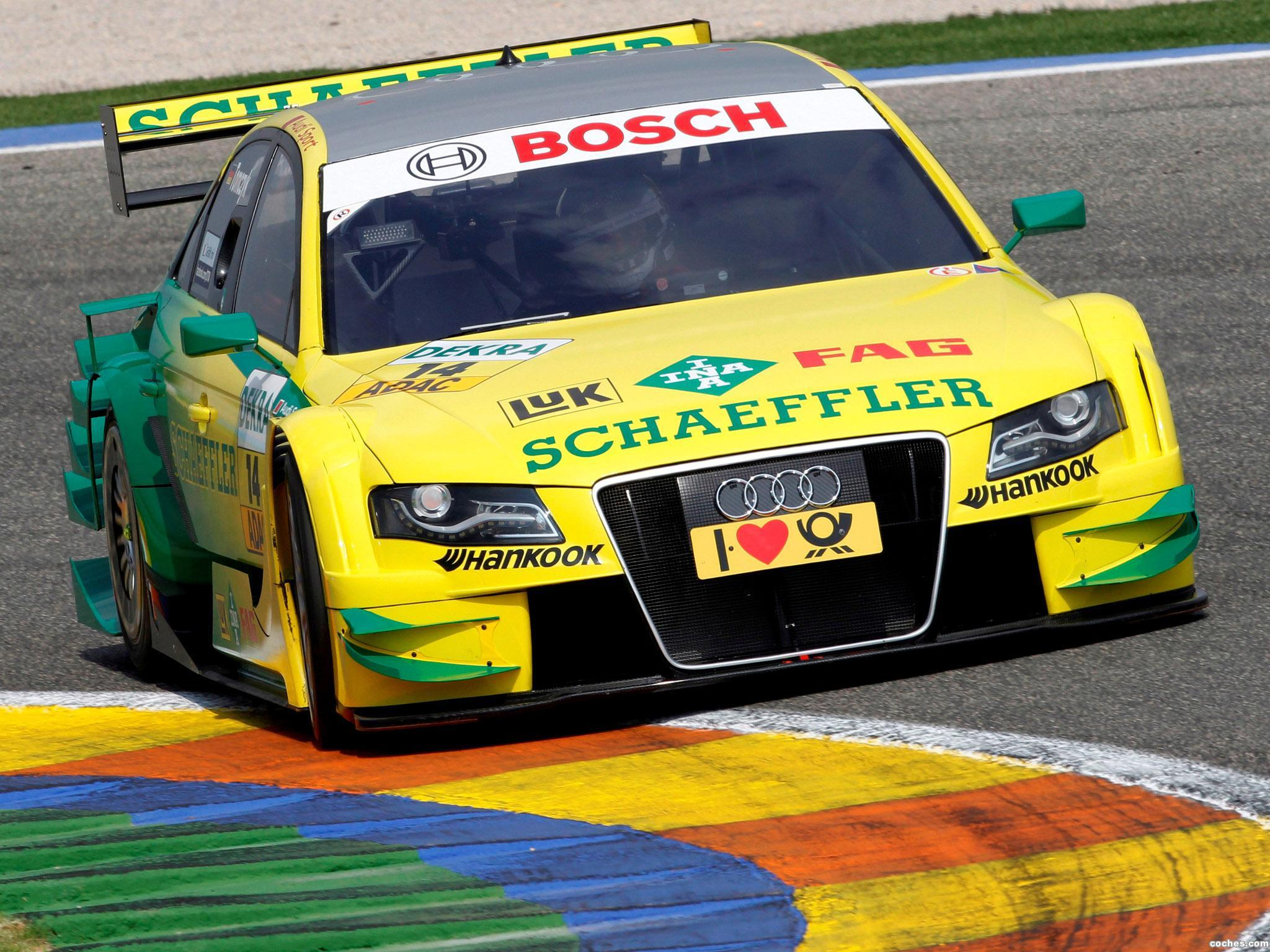 Foto 0 de Audi A4 DTM 2008