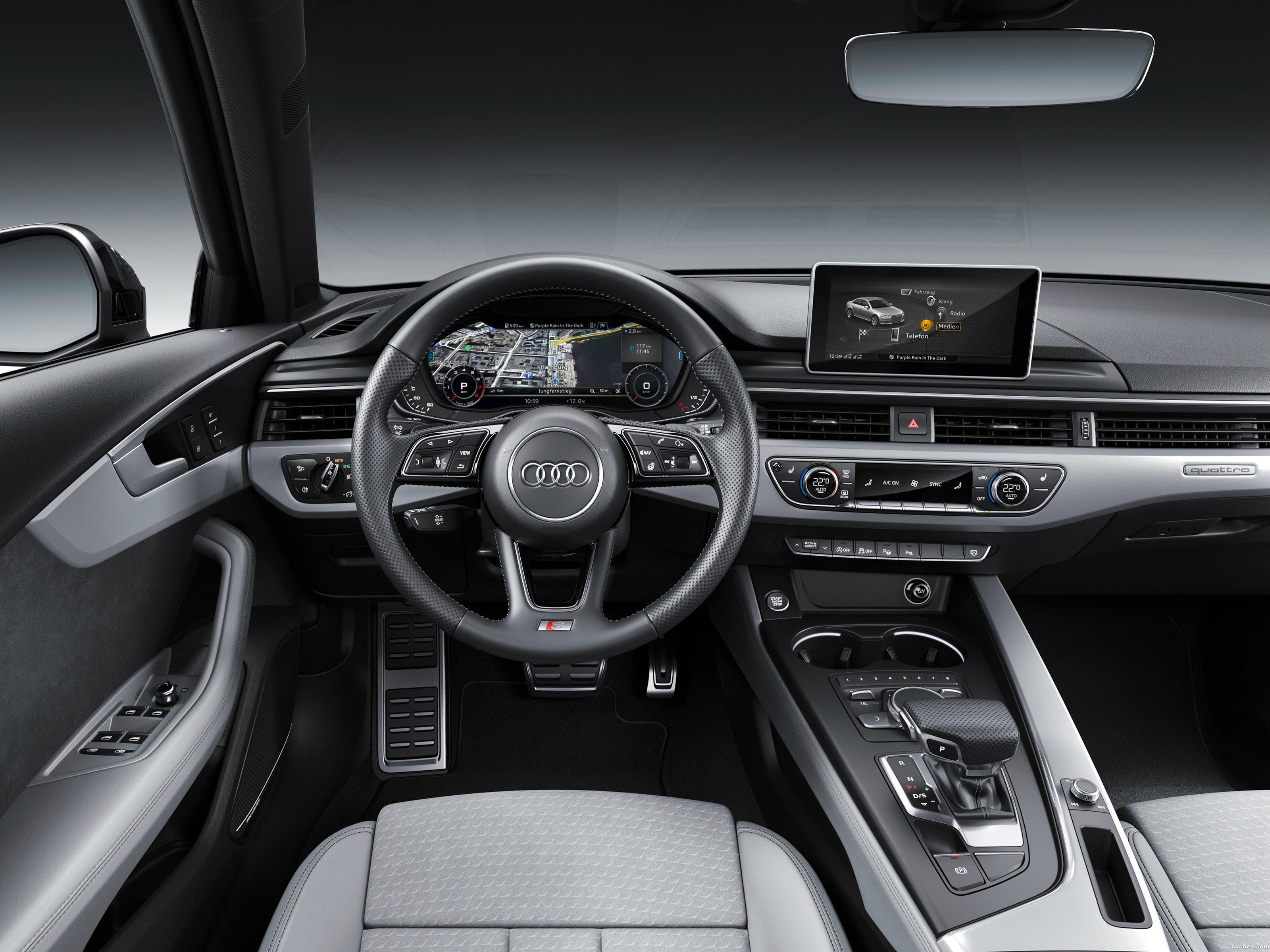 Foto 15 de Audi A4 S Line Quattro 2016